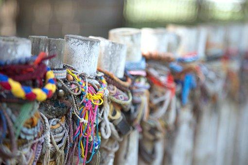 Colorful Ribbon, Commemorate, Cambodia, Asia, History