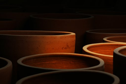 Pottery, Container, Clay