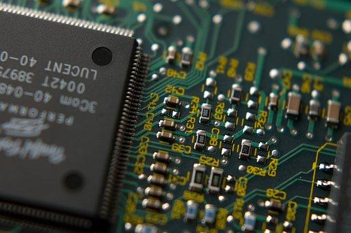 Cpu, Chip, Semiconductor, Condenser, Silicon