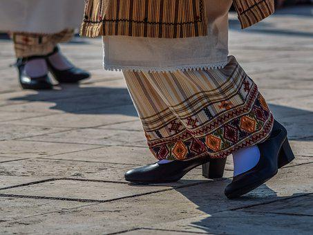 Shoes, Dancing, Dancer, Traditional, Folklore, Female