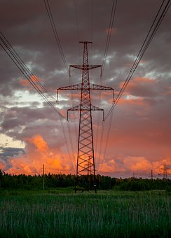 Industry, Power, Electricity, Energy, Sky, Lap