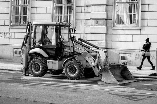 Vehicle, Human, Transport System, Road, Excavators