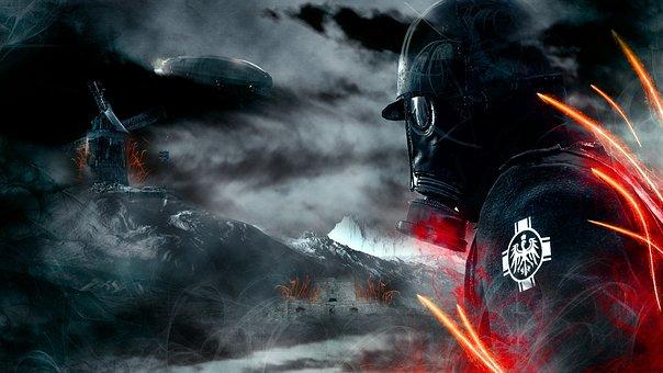 Smoke, Danger, Flame, Action, Dark, Battlefield 1