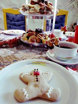 Food, Cake, Dessert, Christmas, Plate, Celebration