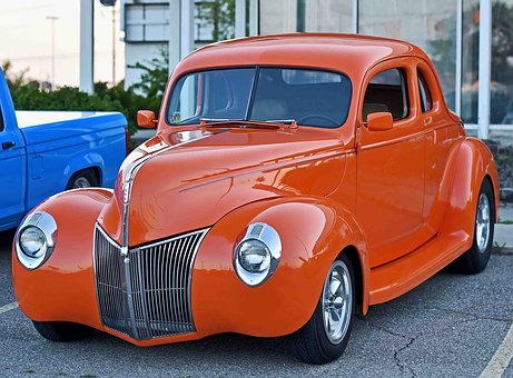 Classic, Ford, Coupe