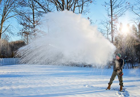 Mpemba Effect, Winter, Snow, Cold, Frost, Frozen