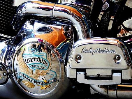 Harley, Davidson, Harley Davidson, Motorcycle, Oldtimer