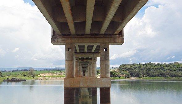 Bridge, Rio Grande, St John The Baptist Of Glory, Mg
