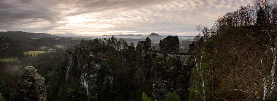 Panorama, Nature, Panoramic Image, Sky, Landscape