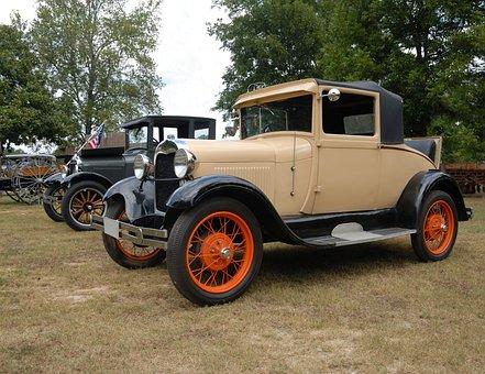 Vintage Car, Automobile, Antique, Retro, Restoration