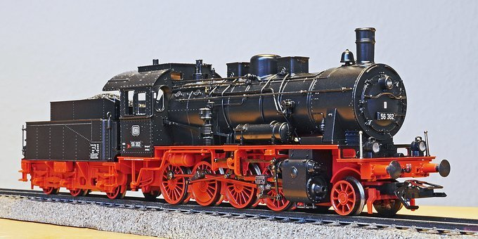 Steam Locomotive, Model, Scale H0, Prussian, G 8-2