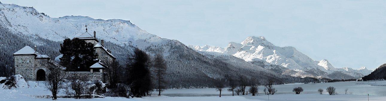 Snow, Panorama, Panoramic Image, Nature, Winter