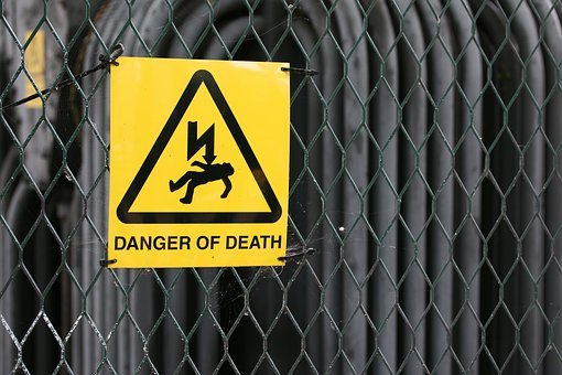 Industry, Sign, Security, Safety, Warning, Electricity