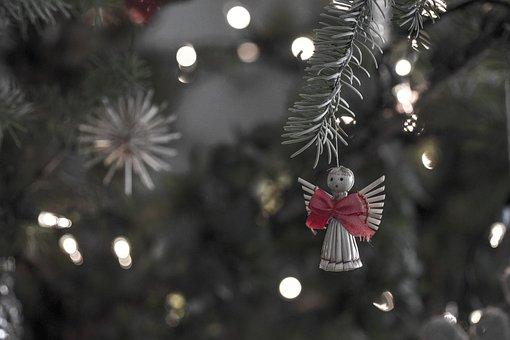 Winter, Christmas, Tree, Decoration, Nature, Angel