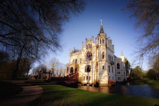 Architecture, Travel, Sky, Evenburg, Castle