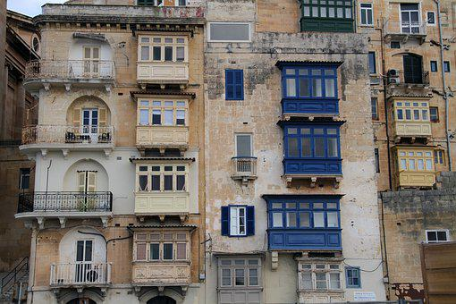 Balcony, Old, Architecture, Building, Facade, Urban