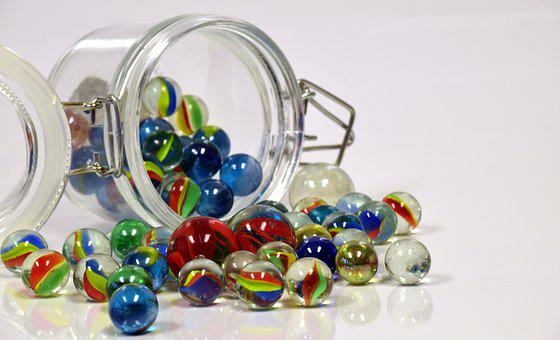 Marbles, Glass, Toys, Children Toys, Colorful, About