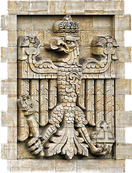 Coat Of Arms, Imperial Eagle, Heraldic Animal