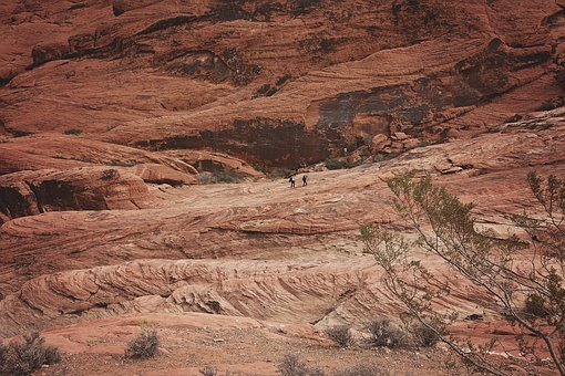 People, Hiking, Landscape, Rock, Natural, Staircase