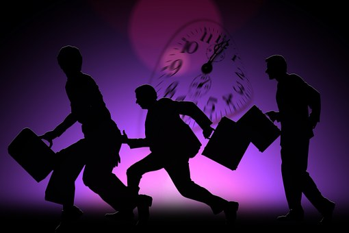 Person, Human, Businessmen, Time, City, Race