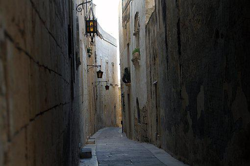 Alley, Street, Door, Narrow, Ancient, Old