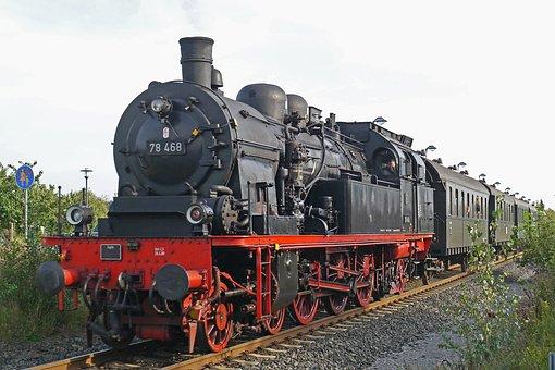 Steam Locomotive, Tank Locomotive, Prussian, T18, T 18