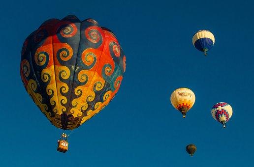 Balloon, Tie Dye, Albuquerque, Fiesta, Mexico