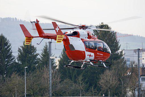 Transport System, Sky, Helicopter, Aircraft