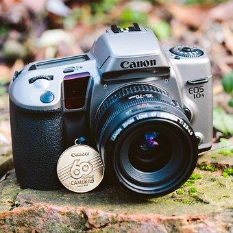 Canon, Eos, Lens, Shutter, Zoom, Equipment, Aperture
