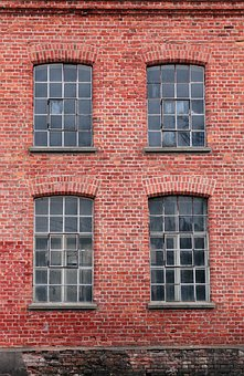 Red Brick, Brick Wall, Window, Architecture, House