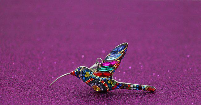 Nature, Art, Hummingbird, Jewel