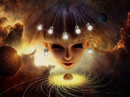 Background, Bright, Energy, Fantasy, Light Bulb, Sun