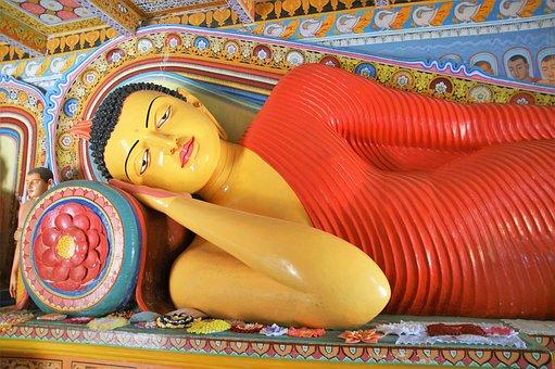 Buddha, Temple, Pattern, Ornament, Sri Lanka