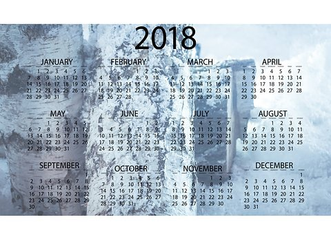 Business, Monthly, Time, Annual, Date, Calendar