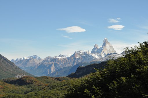 Argentina, Chile, Patagonia, South America, Mountains