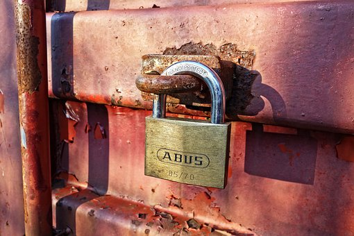 Padlock, Lock, Security, Safety, Closed, Protection