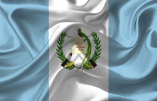 Guatemala, Country, Flag, National, Nation, American