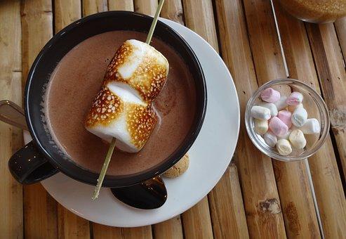 Food, Dessert, Sugar, Marshmallow, Chocolate