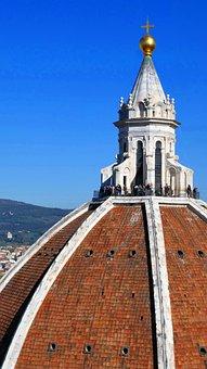 Duomo, Florence, Cathedral, Santa Maria Del Fiore, Dome
