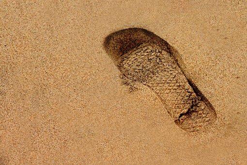 Sand, Beach, Sandy, Desktop, Desert, Footprint, Gritty
