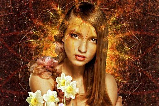 Beautiful, Nature, Portrait, Girl, Woman, Young, Female
