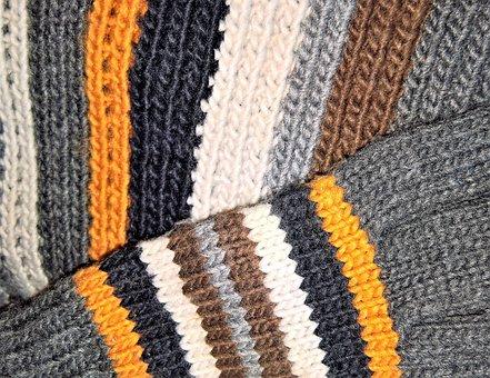 Winter, Scarf, Gloves, Wool