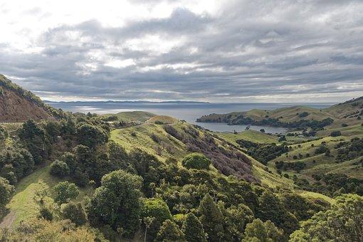 New Zealand, Coromandel, Nature, Panorama, Landscape