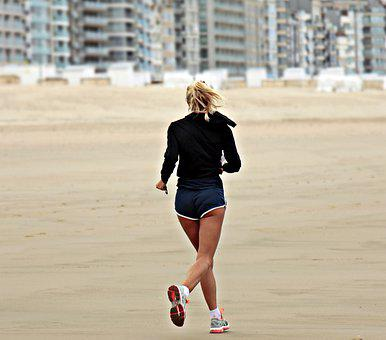 Jogger, Jog, Lifestyle, Sport, Leisure, Train, Summer