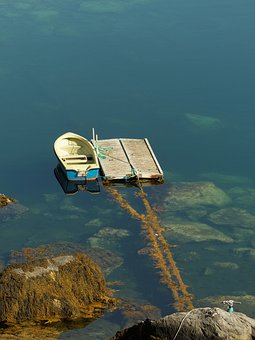 Travel, Sea, Boot, Nature, Summer, Jetty, Norway