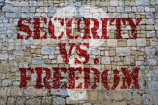 Security, Freedom, Controversy, Need, Safety Think