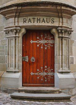 Door, Architecture, Facade, Input, Pillar, Travel