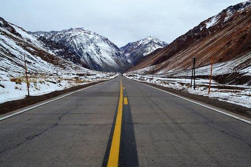 Road, Asphalt, Travel, Transport, Mountain, Outdoors