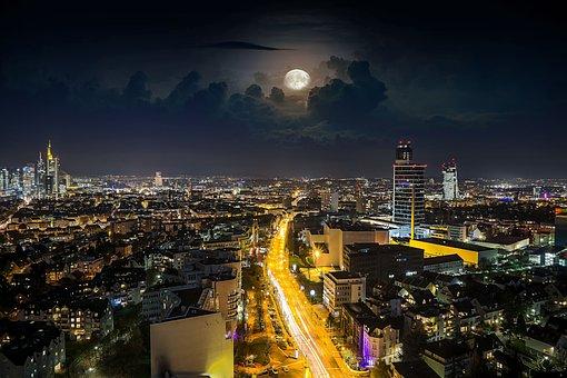 Urban Landscape, City, Panorama, Travel, Skyline