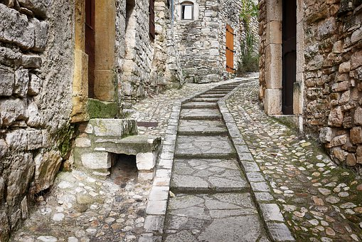Stone, Old, Architecture, Antiquity, Travel, France